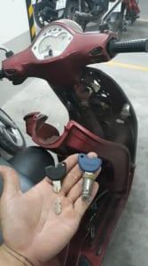 Mở khoá xe máy giỏi các quận Tphcm
