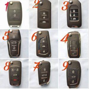 Mẫu chìa khoá Remote gập cho các dòng xe