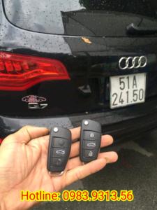 Làm chìa khóa xe ô tô Audi