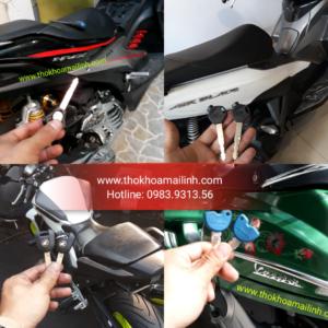 Sửa Khoá Xe Máy Honda Piaggio Yamaha Suzuki Sym Môtô