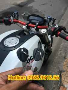 Làm Chìa Khóa Chíp Từ Hiss Xe Ducati