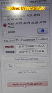 Đọc Mã IC làm chìa khoá xe Vespa Liberty tại Bình Dương