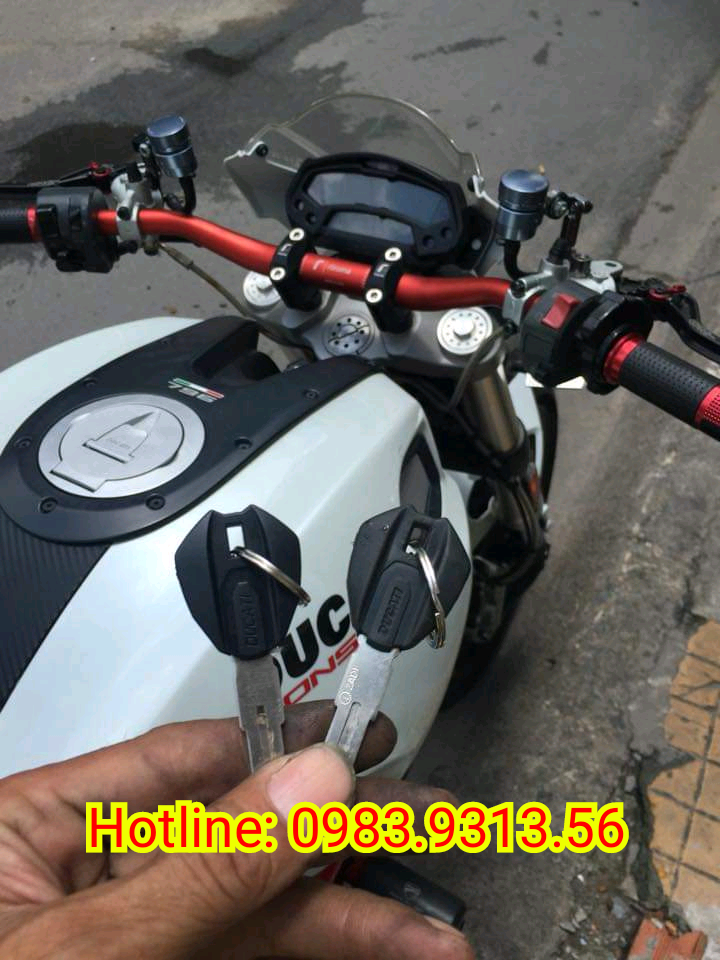 Copy Sao chép Chìa khóa Chíp Từ xe Ducati