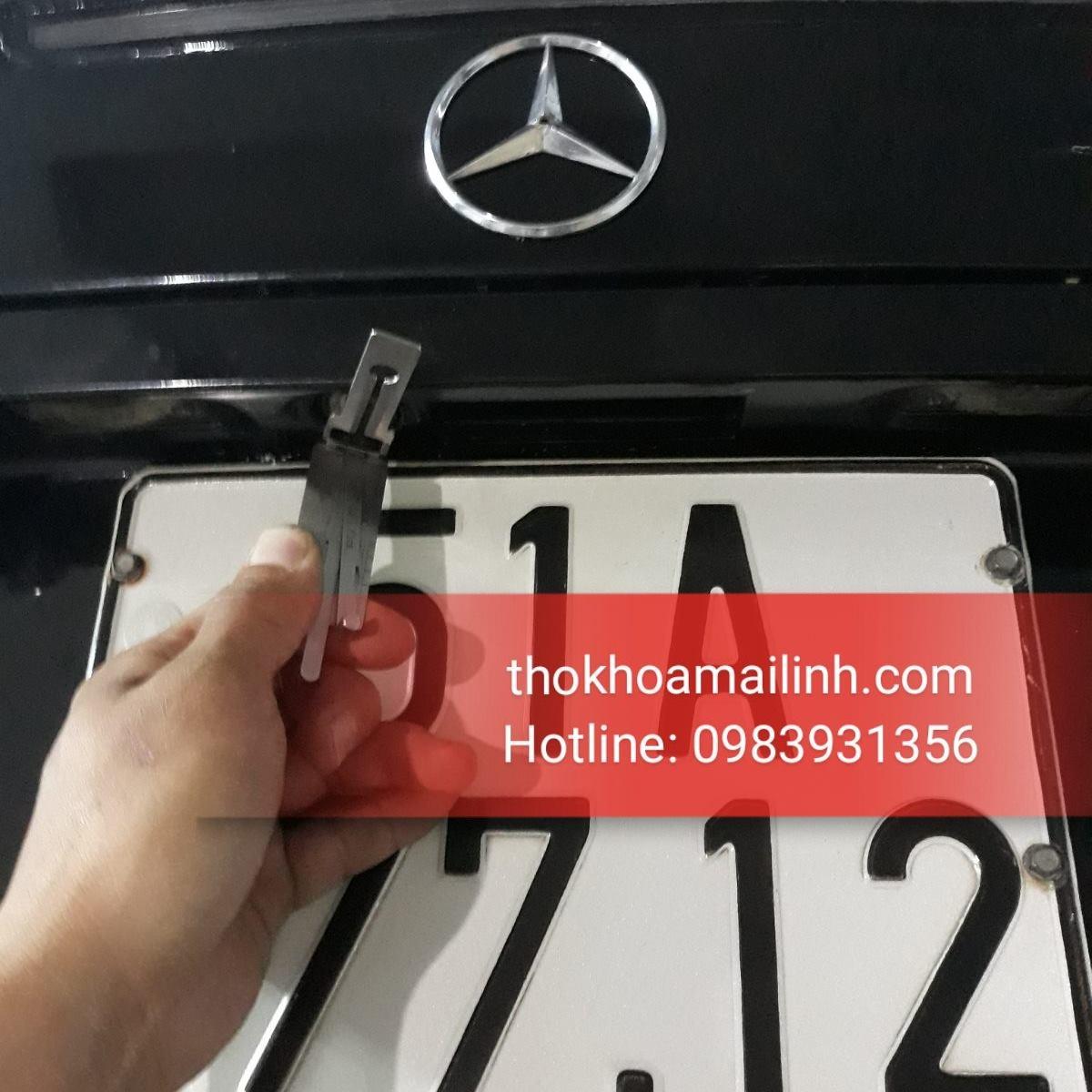 Làm Chìa Khoá Xe Mercedes – Mở Khóa Xe MayBach Quên Chìa 24H