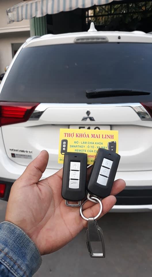 Giá Làm Chìa Khóa Mitsubishi Xpander outlander Triton Bao Nhiêu Tiền..?