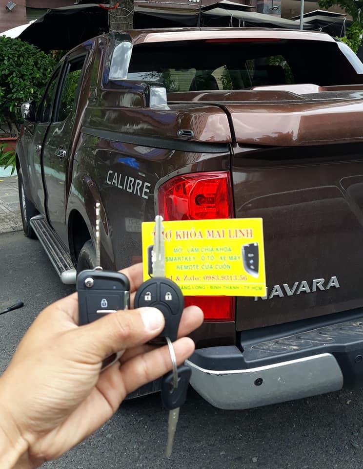 Giá Làm Chìa Khóa Remote Xe Nissan Navara Sunny Xtrail Teana Bao Nhiêu Tiền