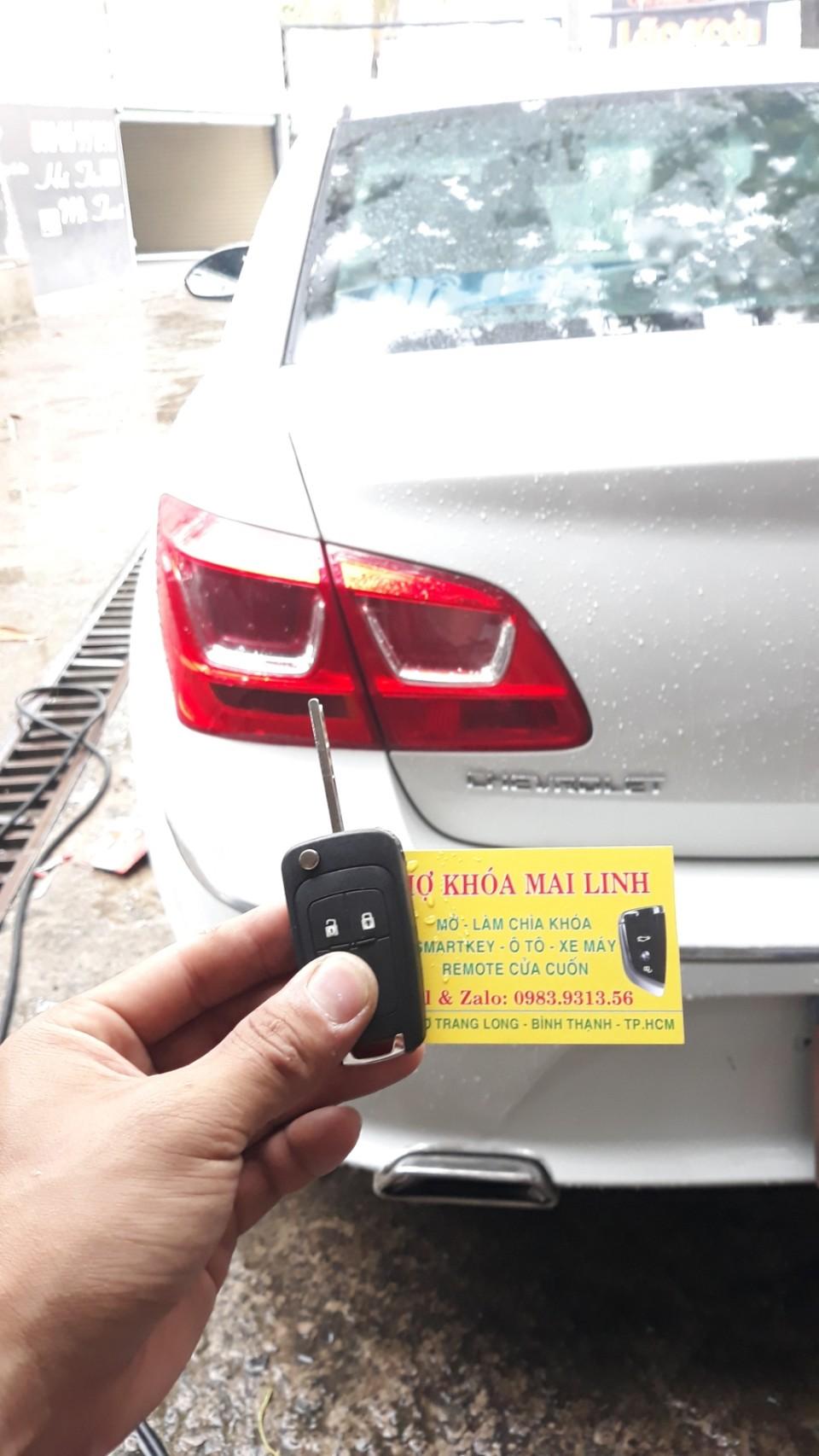 Giá Làm Chìa Khóa Xe Chevrolet Captiva Cruze Orlando Colorado Bao Nhiêu Tiền